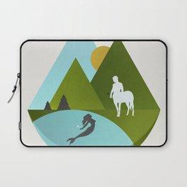 The Mermaid and the Centaur Laptop Sleeve