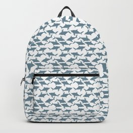 Great White Shark Pattern Backpack