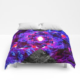 PURPLE DIAMOND Comforters