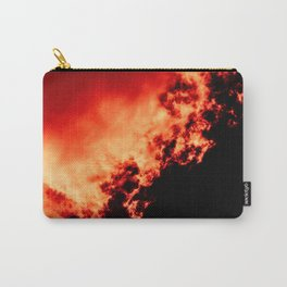 Anger / All red Carry-All Pouch