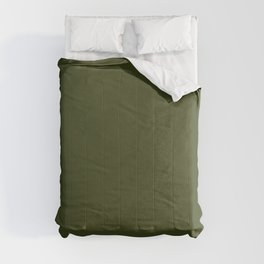 Solid Chive/Herb/Green Pantone Color  Comforters