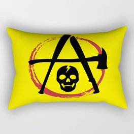 Zombie Fight Force Rectangular Pillow