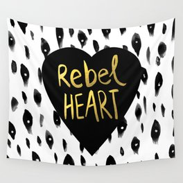 Rebel Heart Wall Tapestry