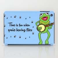 kermit iPad Cases featuring Kermit having fun by BlackBlizzard
