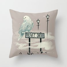 Where it begins Throw Pillow