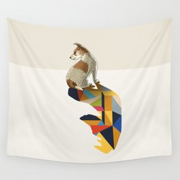 Walking Shadow, Jack Russell Wall Tapestry