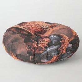 The Strongest Warrior Family Floor Pillow