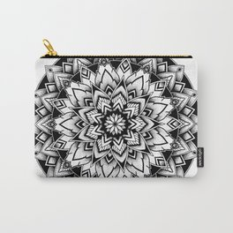 Black mandala Carry-All Pouch