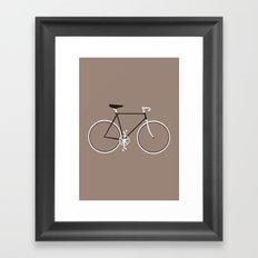 Single Speed Framed Art Print