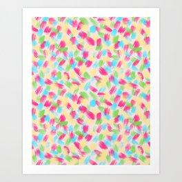 01 Loose Confetti Art Print