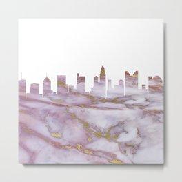 Columbus Skyline Ohio Metal Print