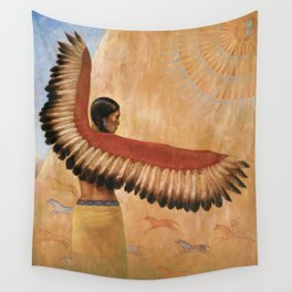 Eagle Dancer  Wall Tapestry