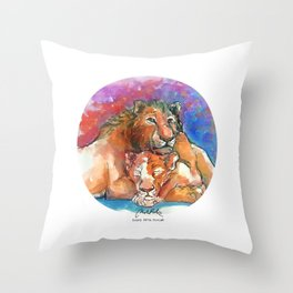 Can You Feel The Love Tonight Throw Pillow