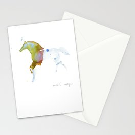 Crystal Horse Stationery Cards