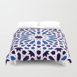 -A18- Original Traditional Moroccan Tile Design. Duvet Cover