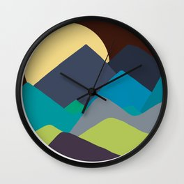 Out of Woods - In the Clear Yet? - Or Into the Woods? - 57 Montgomery Ave Wall Clock