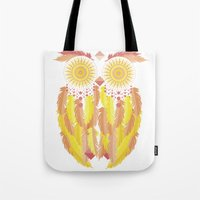 coachella Tote Bags featuring Coachella by Dulce Velasco