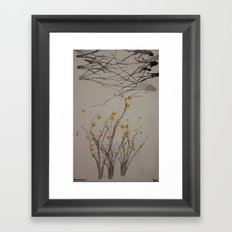 Spring begins Framed Art Print