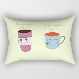 Tea and Coffee Rectangular Pillow