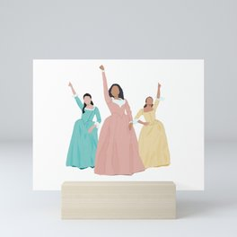 Schuyler Sisters! Mini Art Print