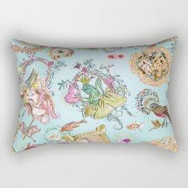 Stephanie's garden Rectangular Pillow