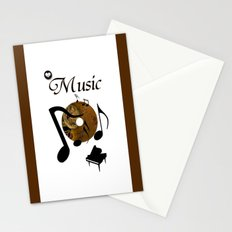 His Master's voice Stationery Cards