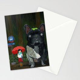 """""""My French Bull Chubu""""  Stationery Cards"""