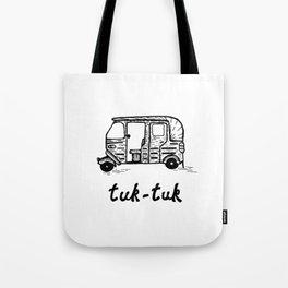 Tuk tuk  Rickshaw Tote Bag