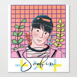 TXT - Soobin Canvas Print