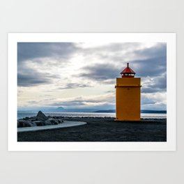 Lighthouse at the Point Art Print