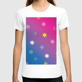 Snowflakes_D T-shirt