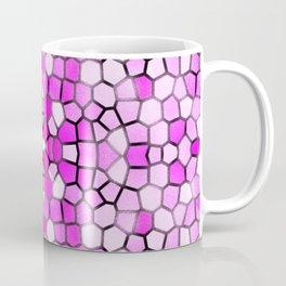 Pink Sparkly Mosaic Pattern Coffee Mug