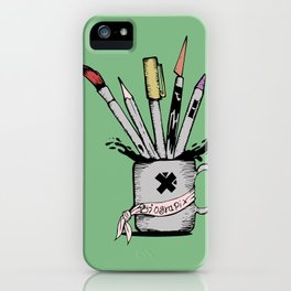 Ink cup iPhone Case