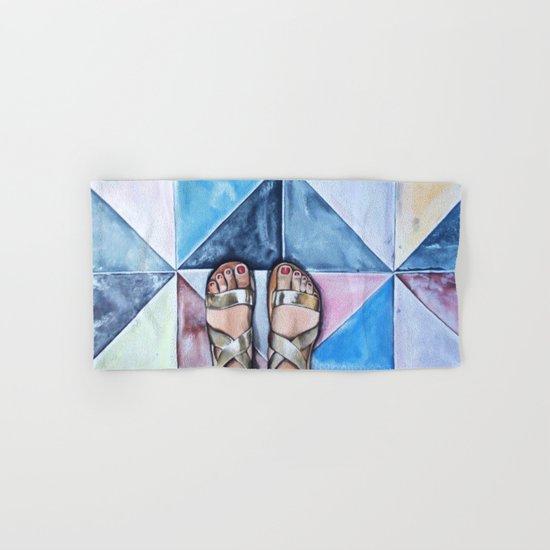 Art Beneath Our Feet - Mykonos Hand & Bath Towel