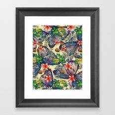My Tropical Garden 10 Framed Art Print