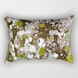 437 - Abstract Lichen Design Rectangular Pillow
