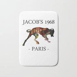 Mad Dog I Jacob's 1968 fashion Paris Bath Mat