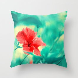 Tropical Exuberance II Throw Pillow