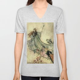 The Fairy Queen Unisex V-Neck
