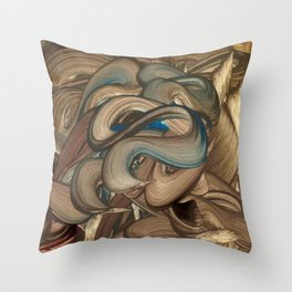 Lamed Vuv Throw Pillow