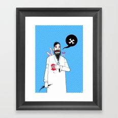 Rasputins Last Gasp Framed Art Print