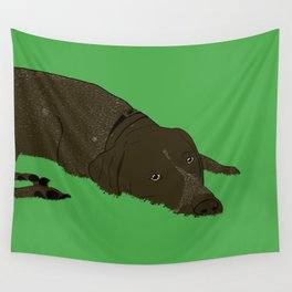 Gunner the German shorthaired pointer Wall Tapestry