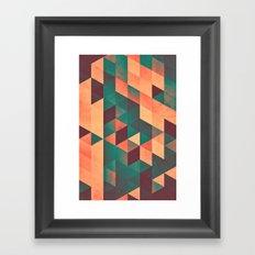 mwwvv ynn Framed Art Print