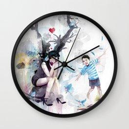 Zip-a-dee-doo-Death Wall Clock