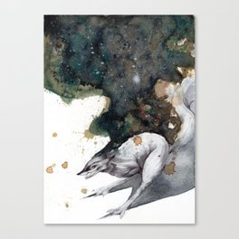 Night Runner Canvas Print