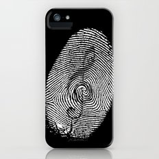 Born to love music! iPhone (5, 5s) Slim Case