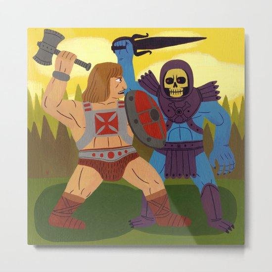 Good Versus Evil Metal Print