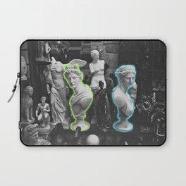 Greek statues *neon lights* Laptop Sleeve
