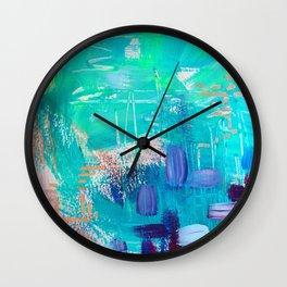 Mixed emotion Wall Clock
