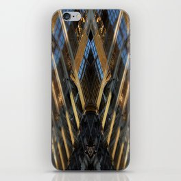 grand place brussels rorschach symmetry caleidoscope mirror 24112 iPhone Skin